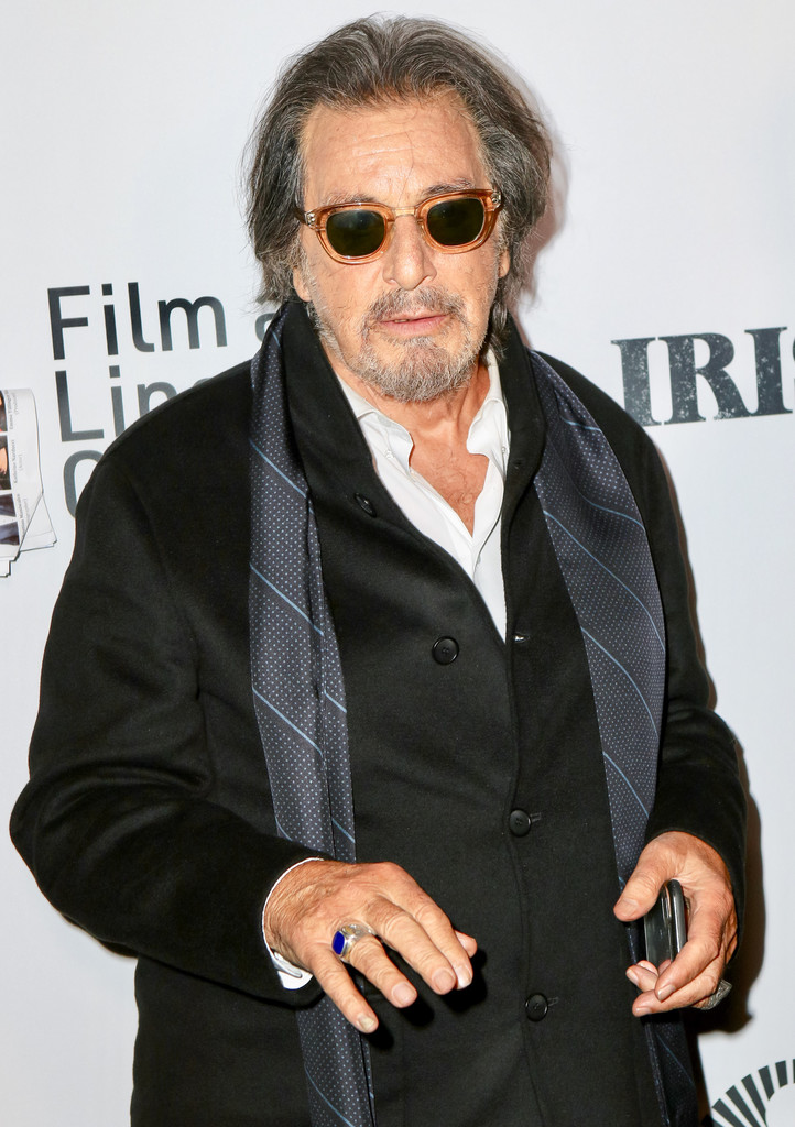 Al Pacino The Irishman New York Film Festival Premiere