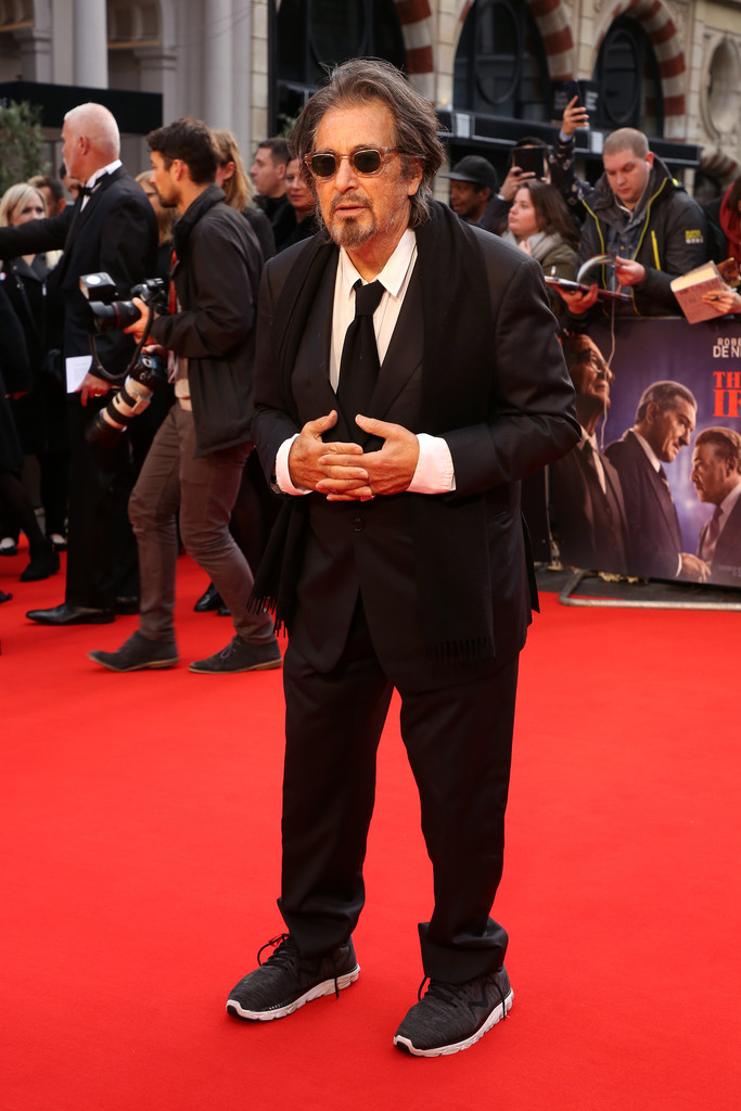 Al Pacino The Irishman UK Premiere BFI London Film Festival
