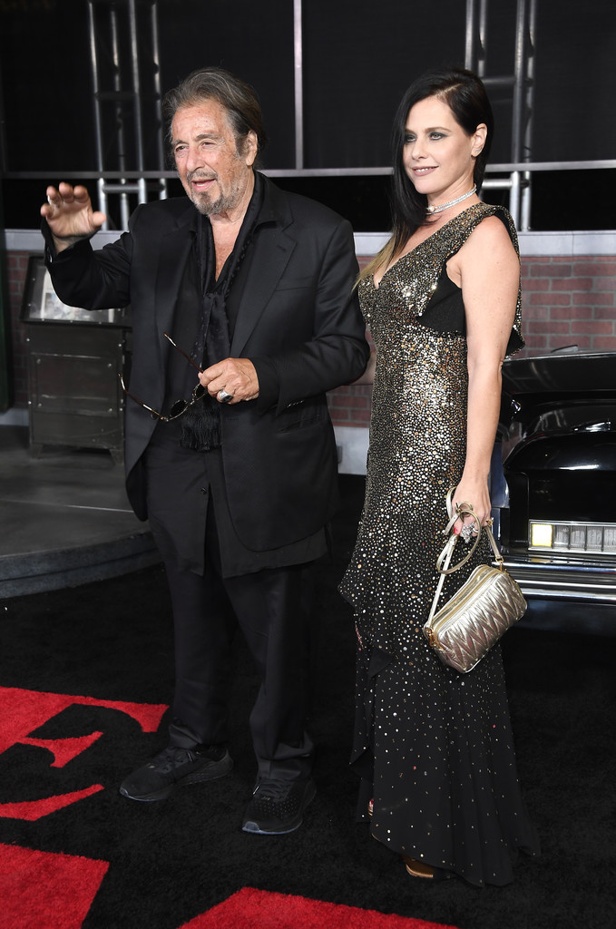 Al Pacino and Meital Dohan The Irishman Los Angeles Premiere