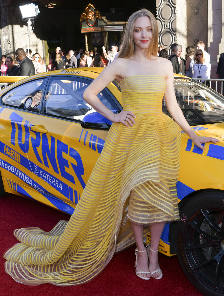 Amanda Seyfried The Art of Racing in the Rain Los Angeles Premiere Arrivals