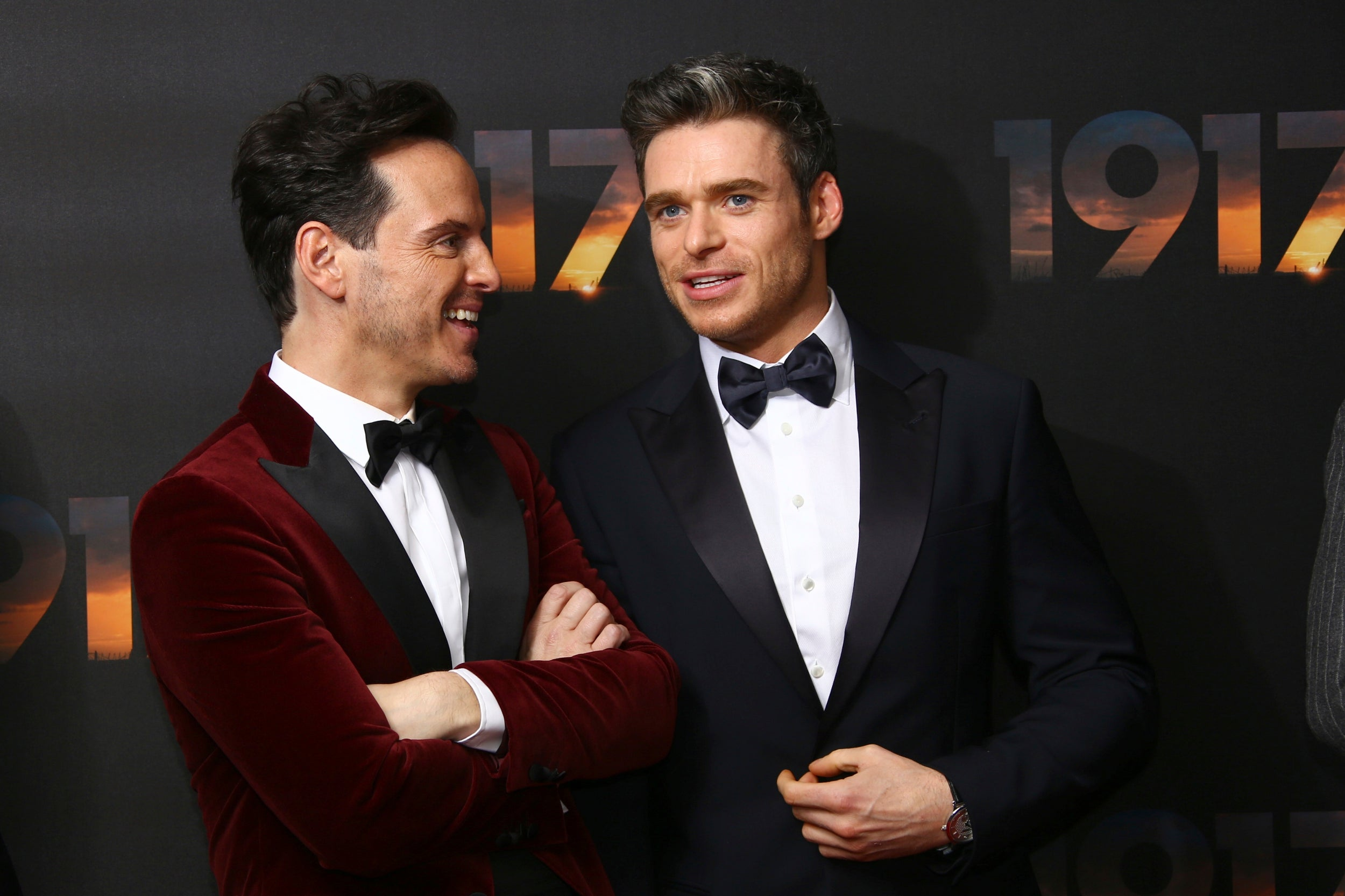 Andrew Scott and Richard Madden 1917 World Premiere London Arrivals