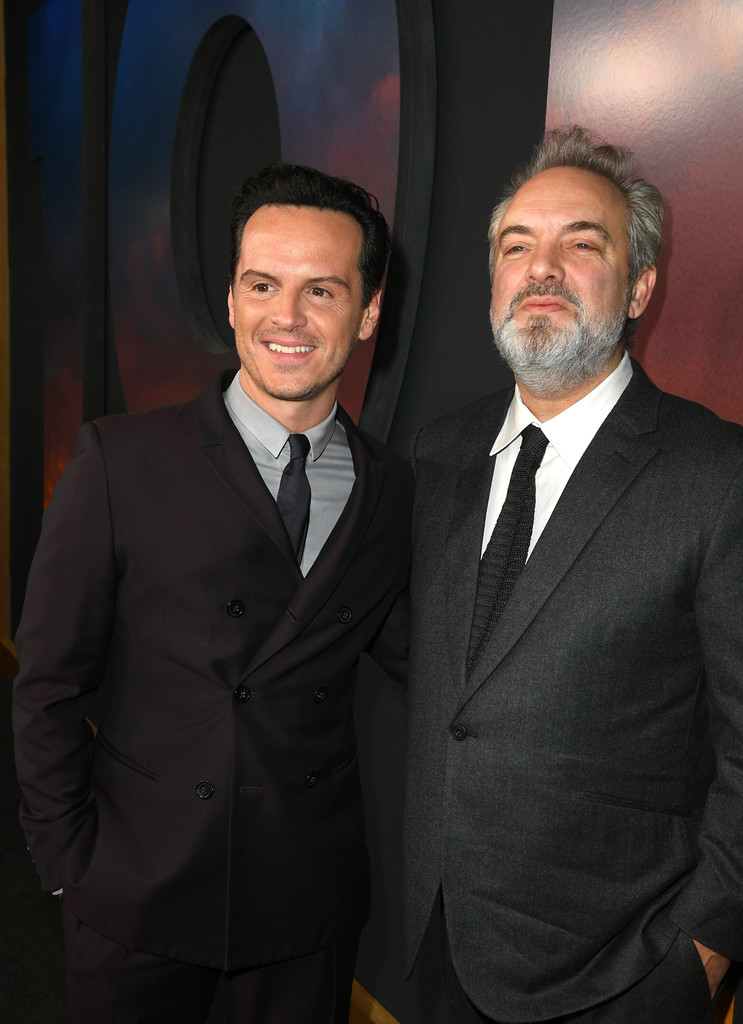 Andrew Scott and Sam Mendes 1917 Hollywood Premiere Los Angeles Universal Pictures