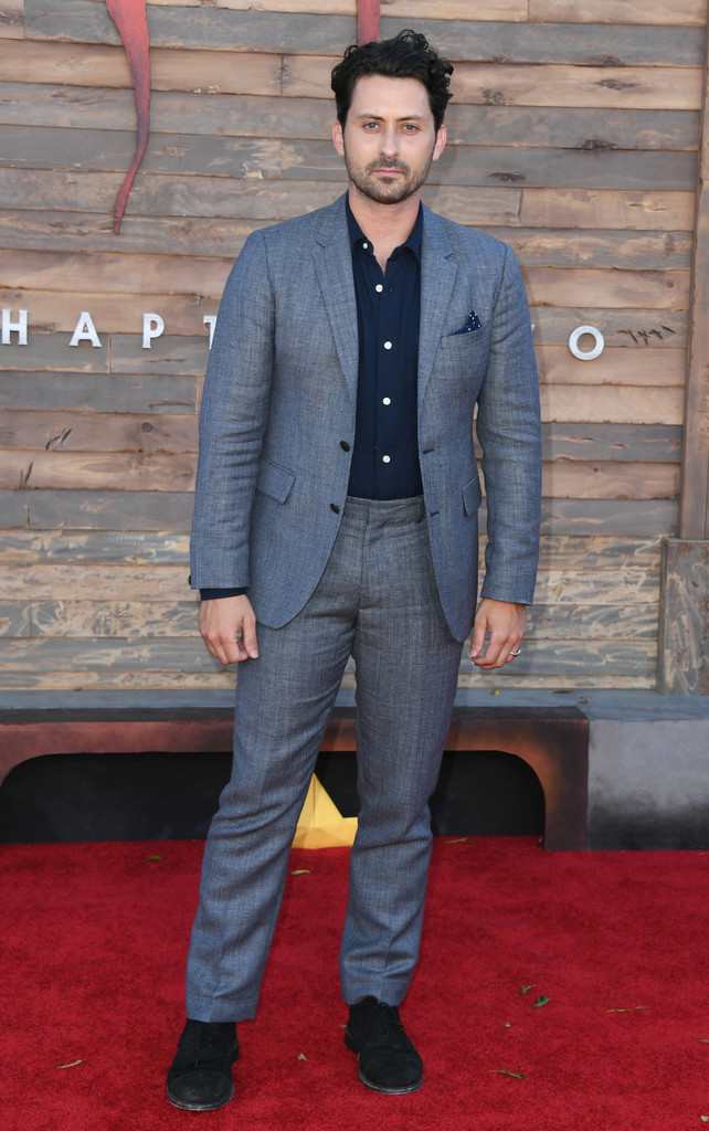 Andy Bean IT Chapter Two Hollywood Premiere Los Angeles Arrivals