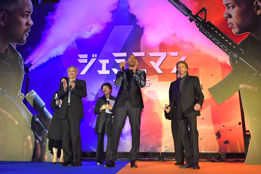 Ang Lee, Will Smith and Jerry Bruckheimer Gemini Man Tokyo Premiere Japan