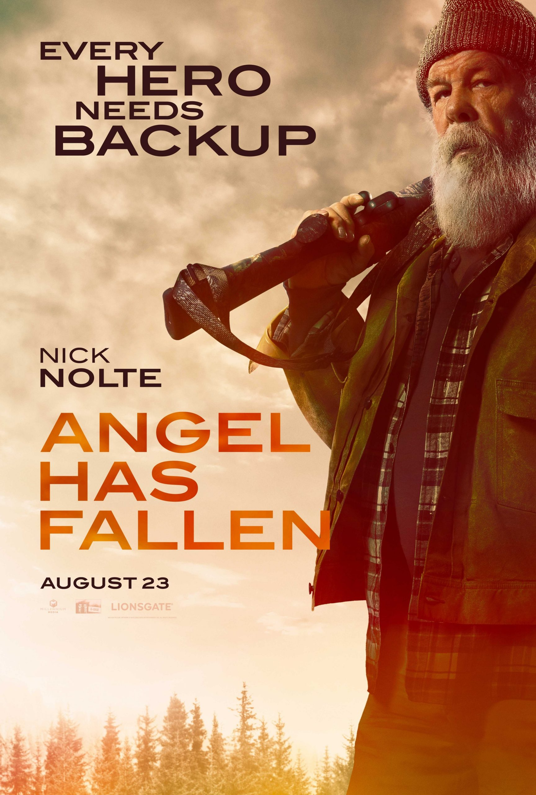 Angel Has Fallen Character Posters Nick Nolte as Clay Banning