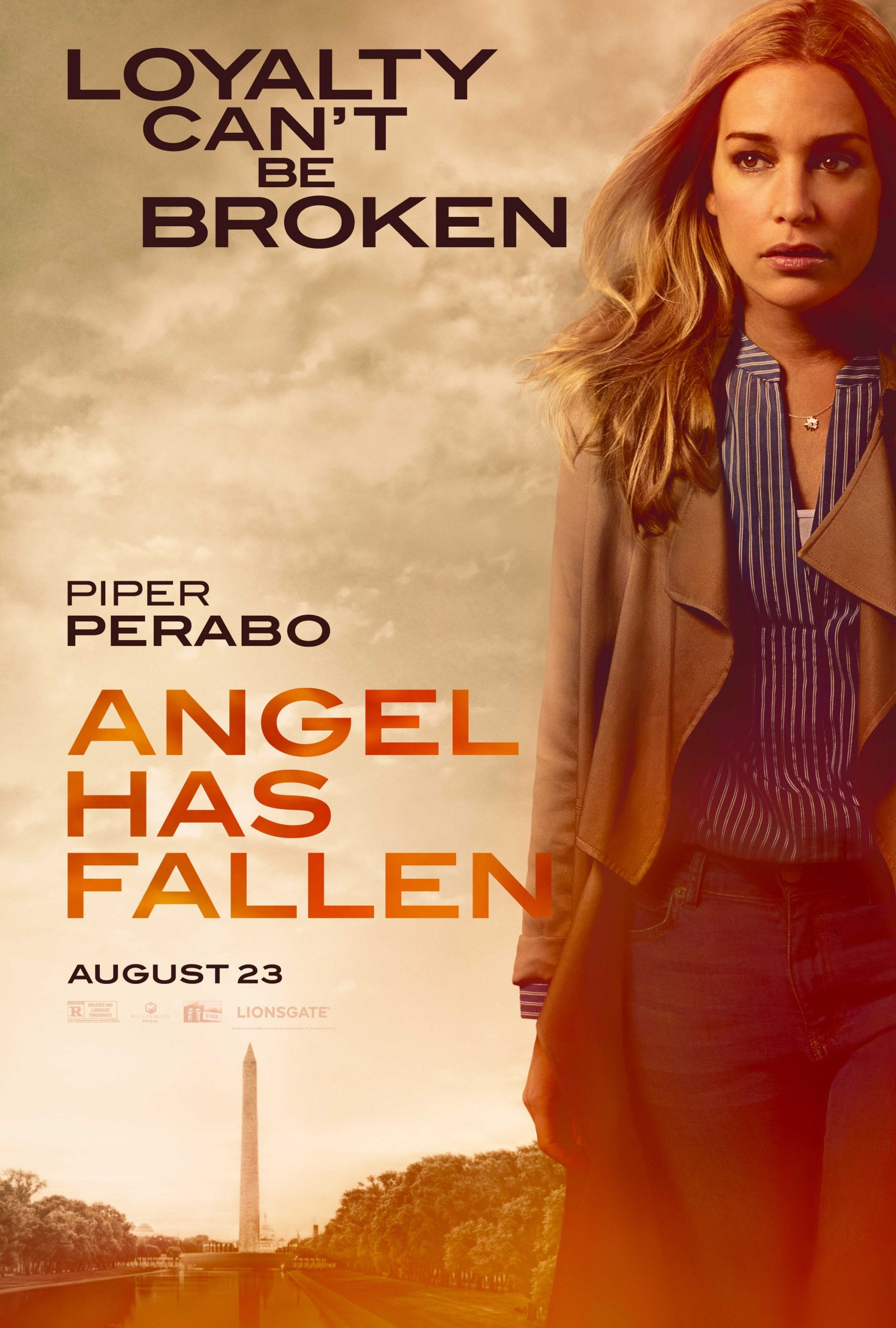 Angel Has Fallen Character Posters Piper Perabo as Leah Banning
