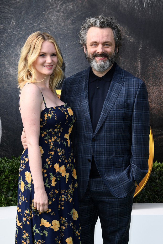 Anna Lundberg and Michael Sheen Dolittle Premiere Los Angeles Hollywood