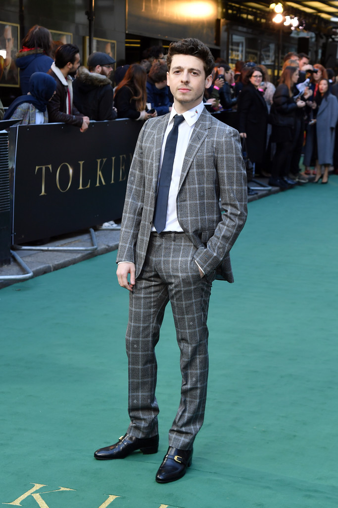 Anthony Boyle Tolkien UK Premiere London