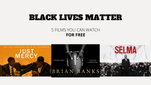 Black Lives Matter: 5 films you can watch for free