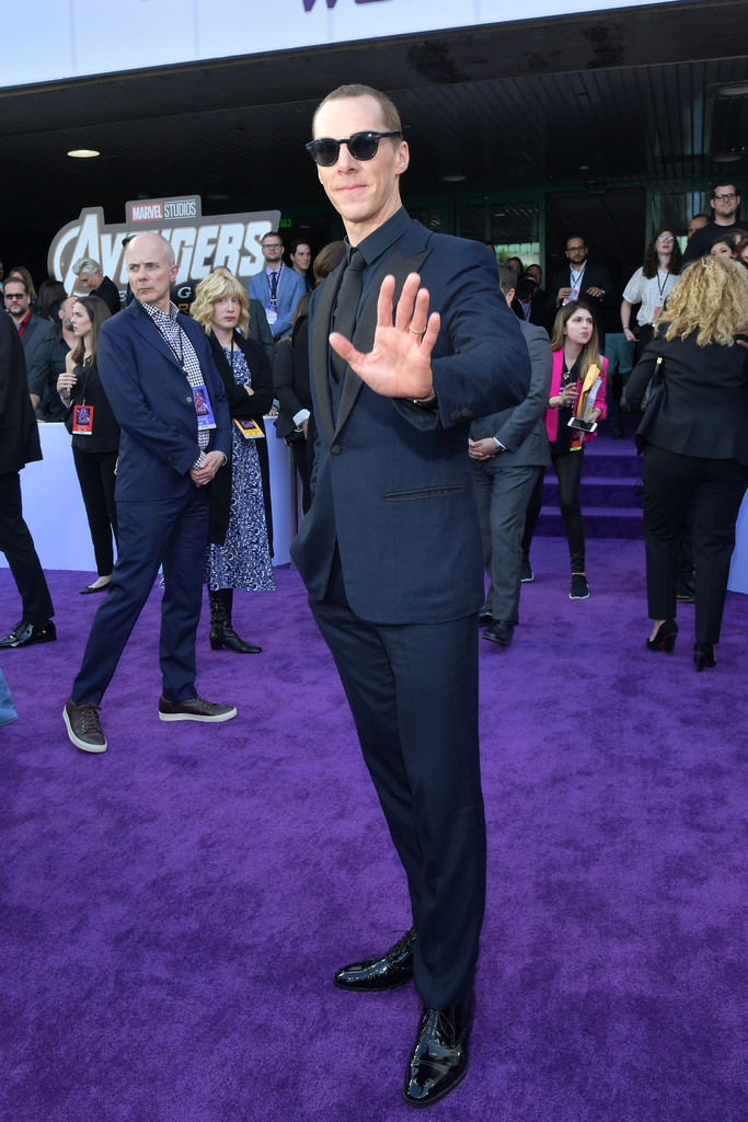 Benedict Cumberbatch Marvel Avengers Endgame World Premiere Los Angeles Hollywood