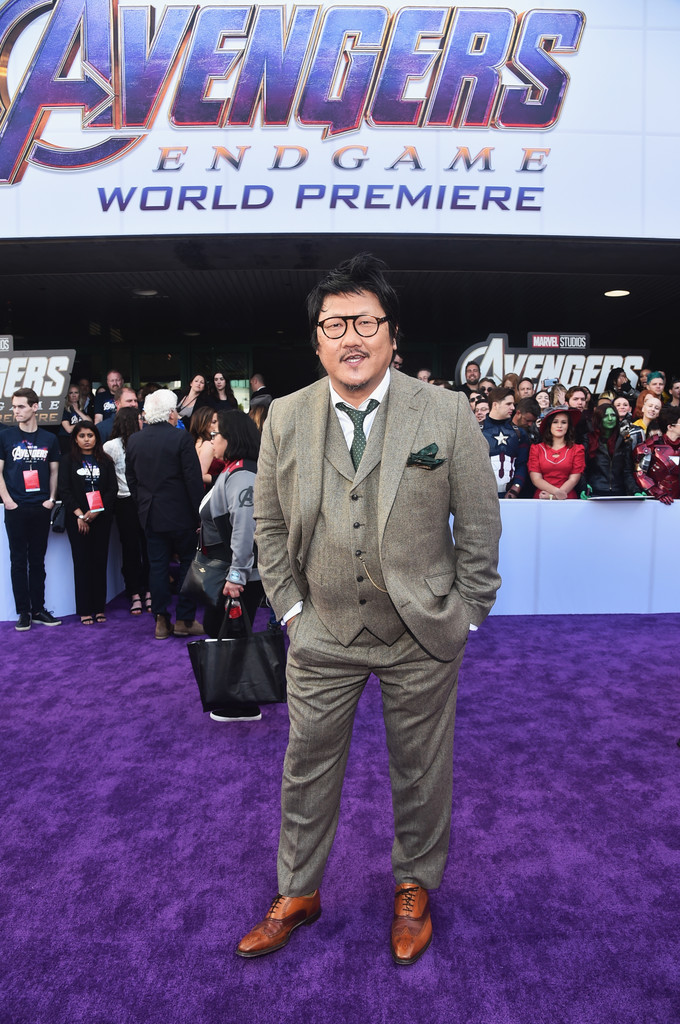 Benedict Wong Marvel Avengers Endgame World Premiere Los Angeles Hollywood