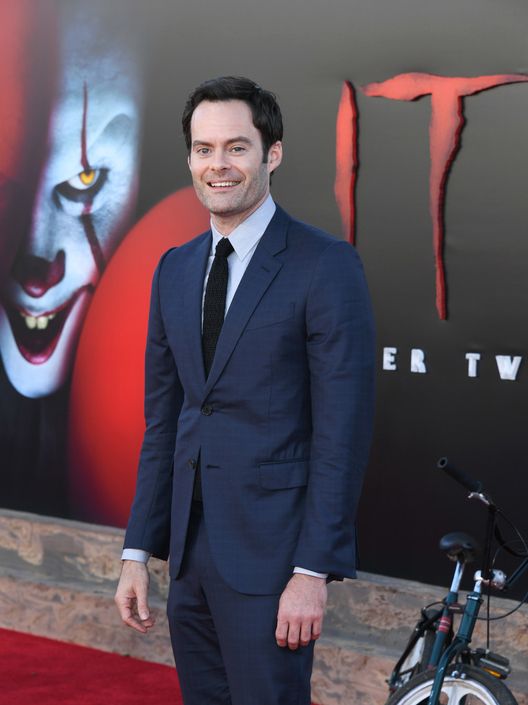 Bill Hader IT Chapter Two Hollywood Premiere Los Angeles Arrivals