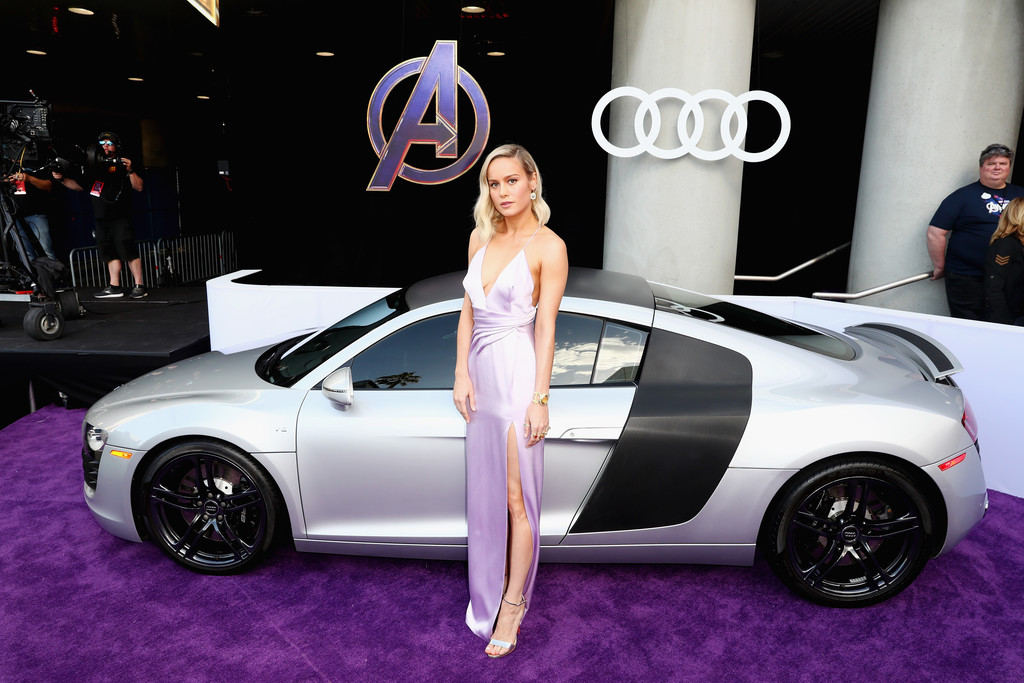 Brie Larson Marvel Avengers Endgame World Premiere Los Angeles Hollywood