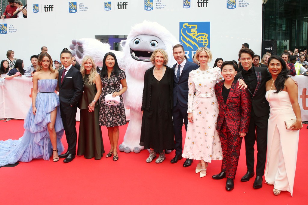 Cast and crew Abominable Premiere Toronto International Film Festival 2019 TIFF