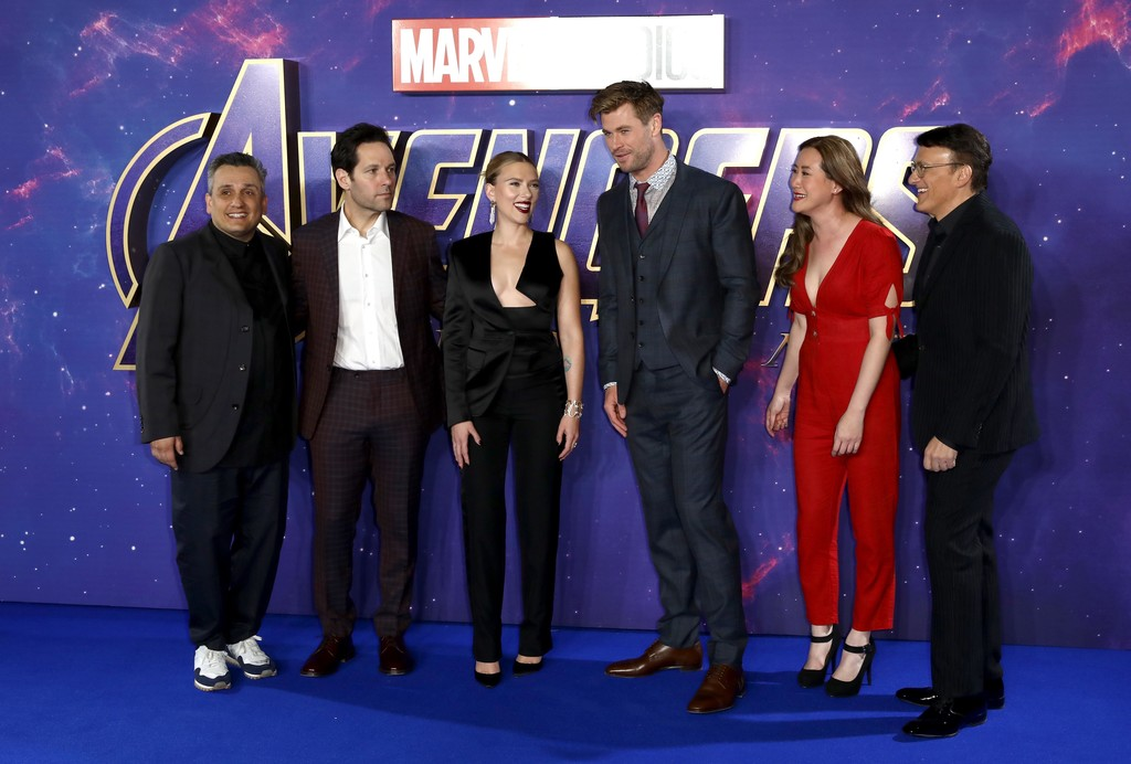 Cast and crew Avengers Endgame UK Premiere London