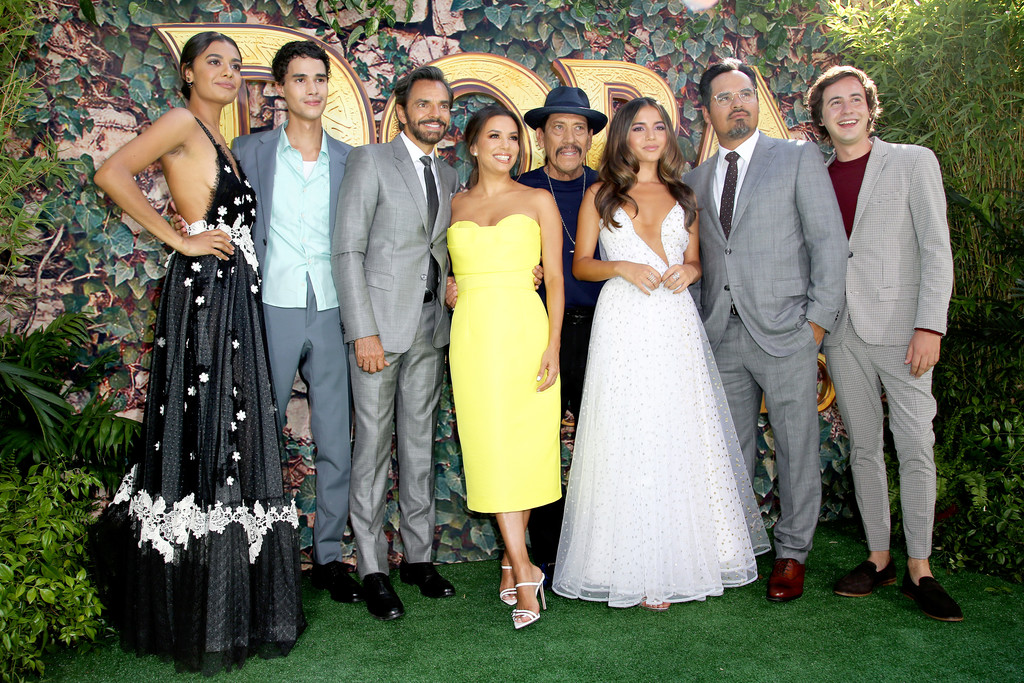 Cast and crew Dora and the Lost City of Gold World Premiere Los Angeles Arrivals