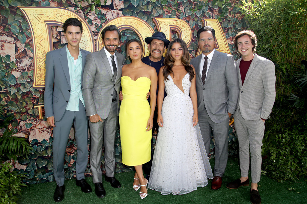 Cast and crew Dora and the Lost City of Gold World Premiere Los Angeles