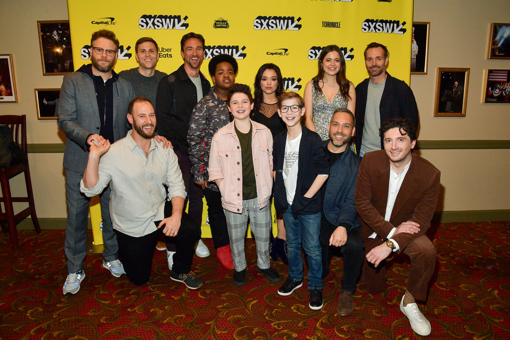 Cast and crew Good Boys Premiere Texas