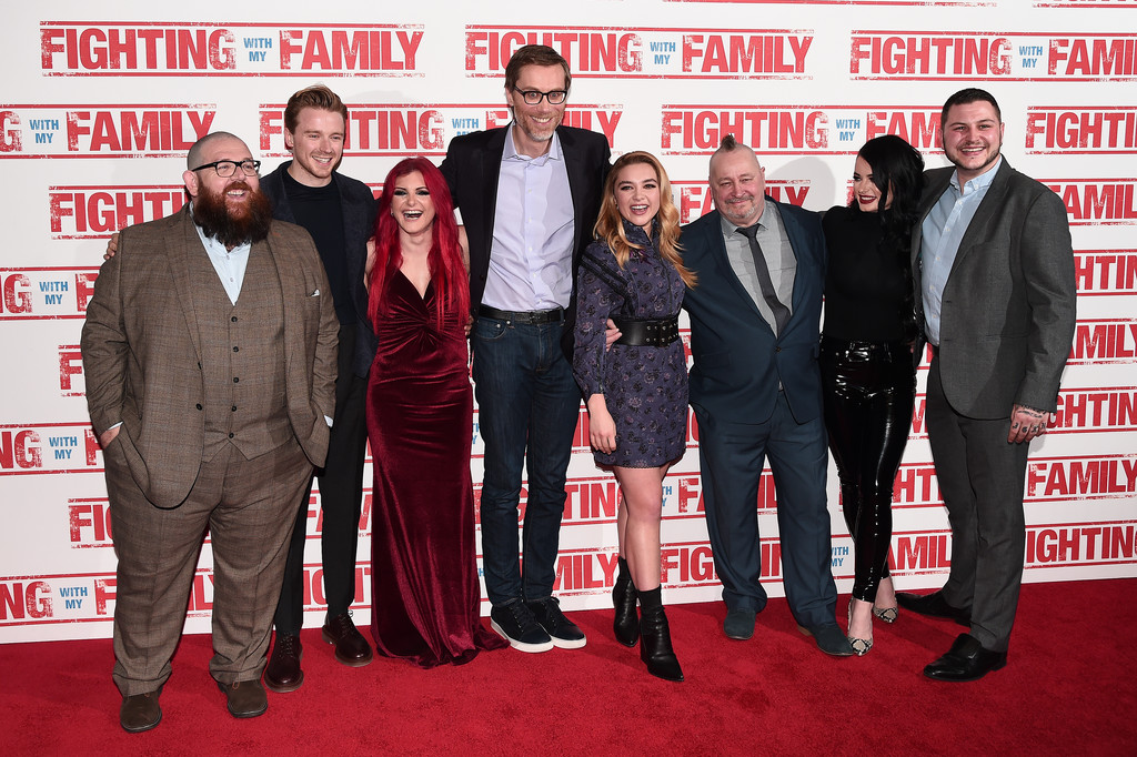Cast and crew of Fighting with my Family UK Premiere London Arrivals