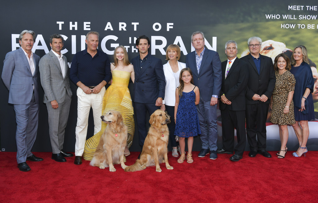 Cast and crew of The Art of Racing in the Rain Los Angeles Premiere Arrivals