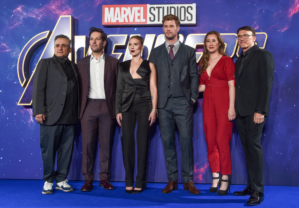 Cast and filmmakers Avengers Endgame UK Premiere London