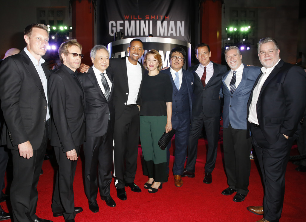 Cast and filmmakers Gemini Man Hollywood Premiere Los Angeles
