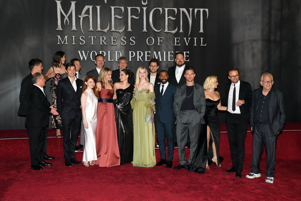 Cast and filmmakers Maleficent Mistress of Evil World Premiere Los Angeles