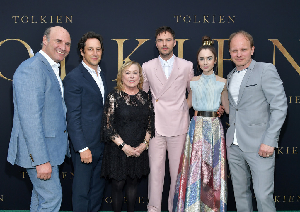 Cast and filmmakers Tolkien Los Angeles Premiere