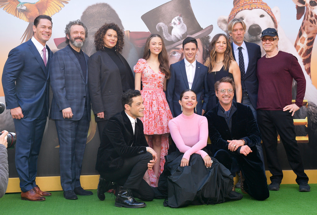 Cast of Dolittle attend the Los Angeles Premiere in Hollywood