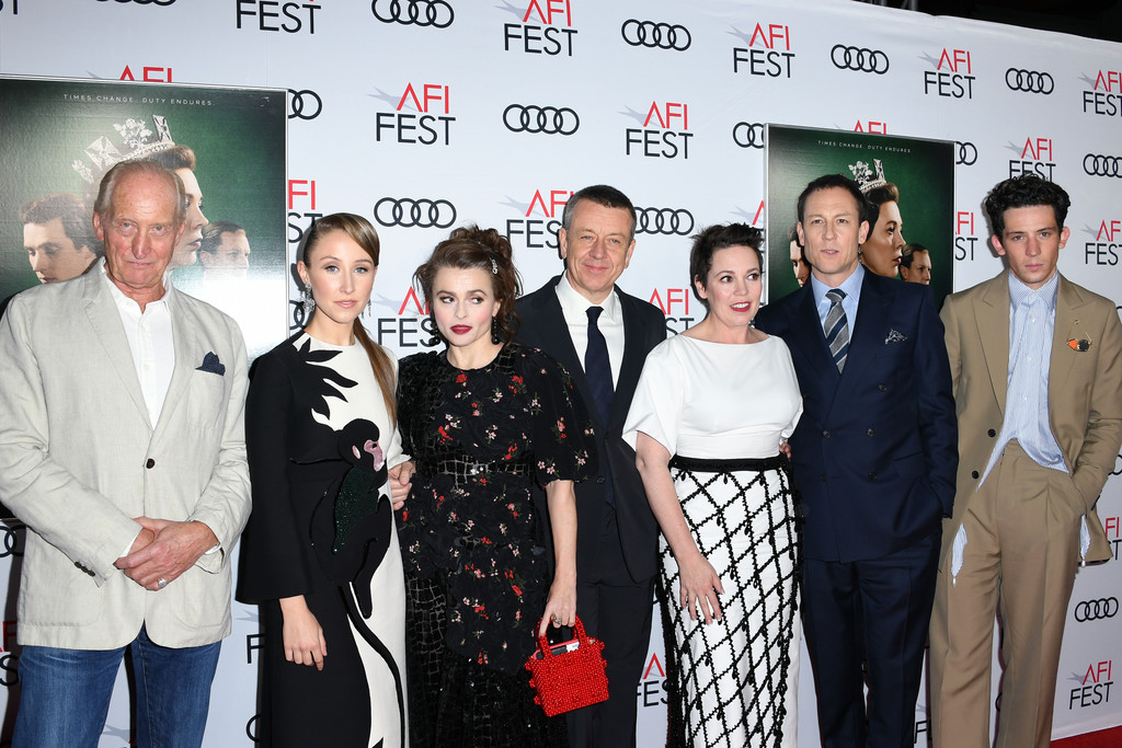 Cast of The Crown Season 3 Los Angles Premiere AFI Fest 2019