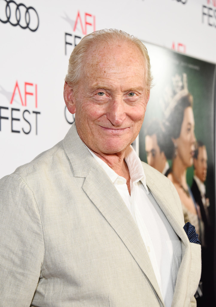 Charles Dance The Crown Season 3 Los Angles Premiere AFI Fest 2019