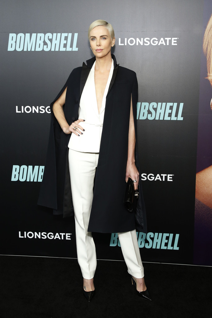 Charlize Theron Bombshell Special Screening New York City Arrivals