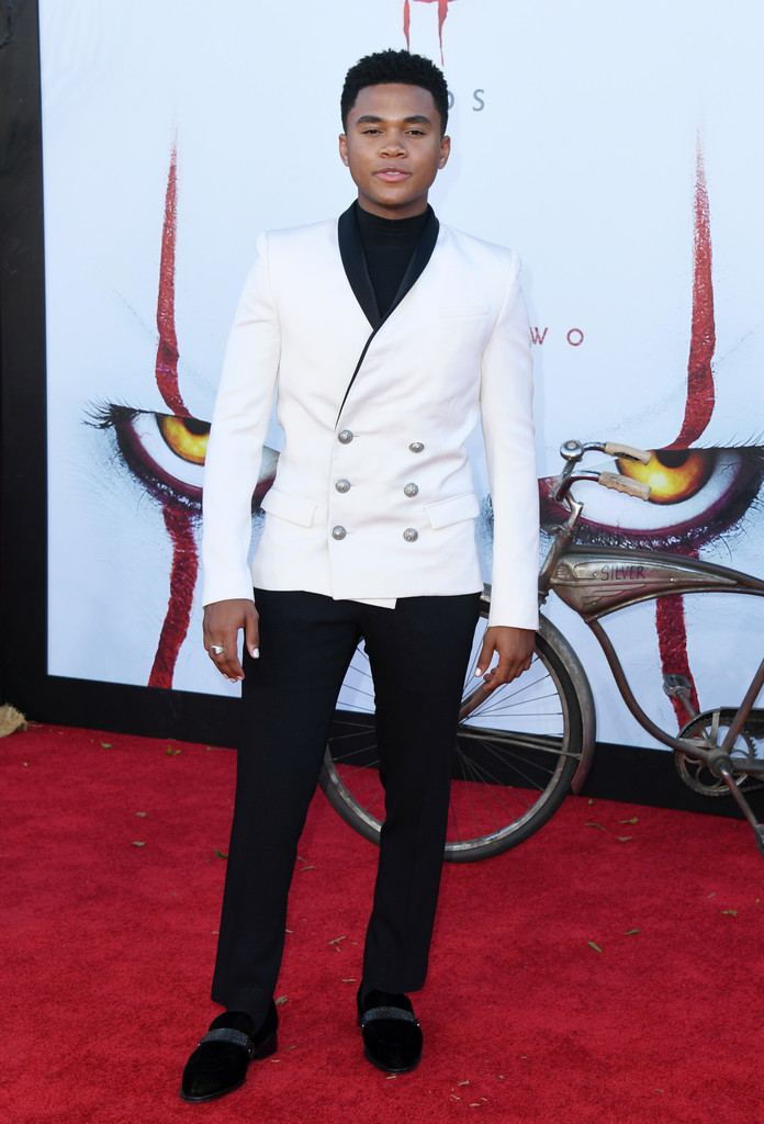 Chosen Jacobs IT Chapter Two Hollywood Premiere Los Angeles Arrivals