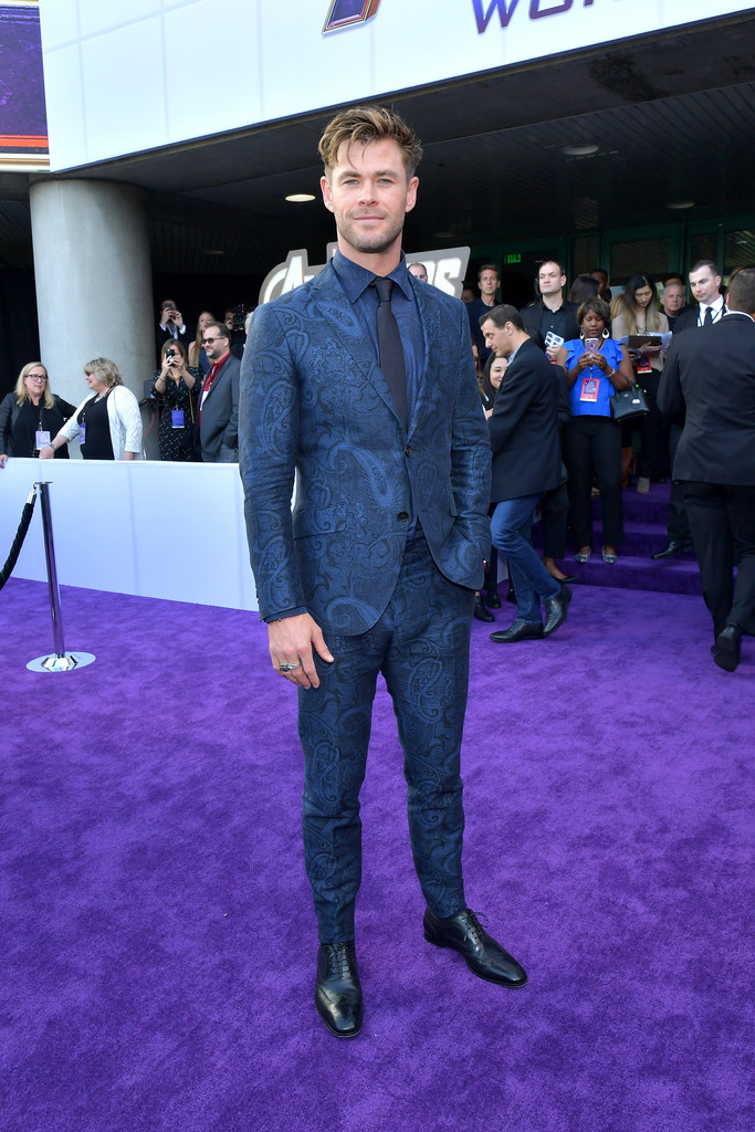 Chris Hemsworth Marvel Avengers Endgame World Premiere Los Angeles Hollywood