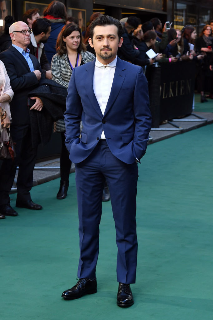 Craig Roberts Tolkien UK Premiere London