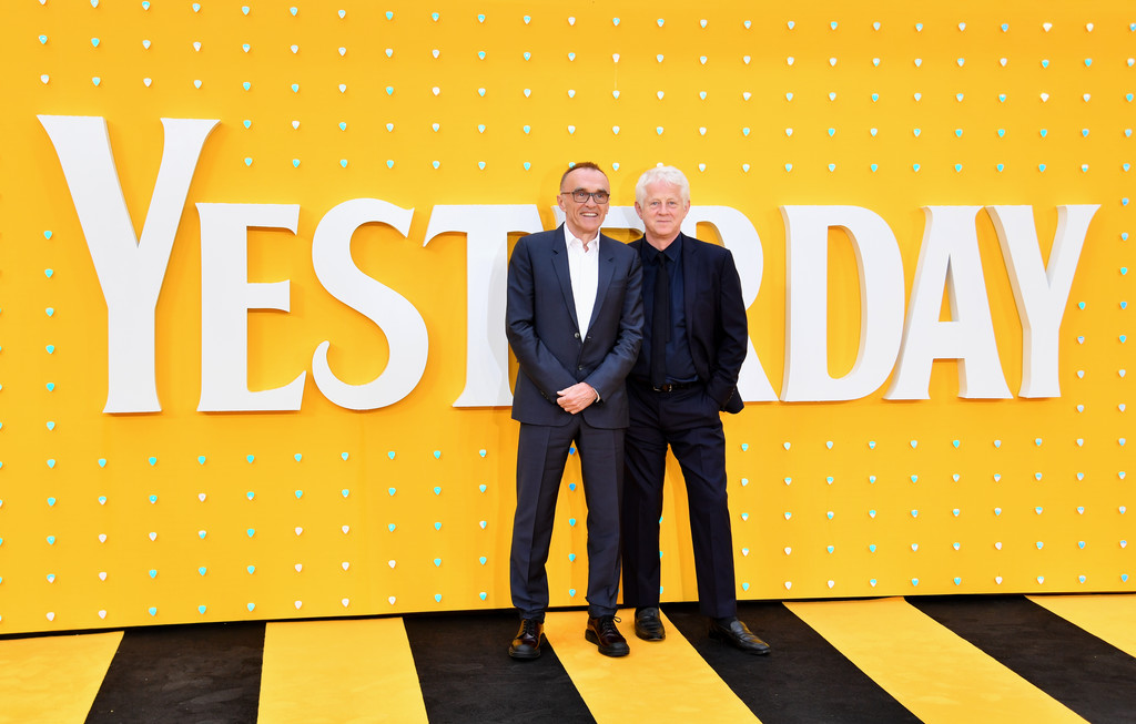 Danny Boyle and Richard Curtis Yesterday World Premiere London