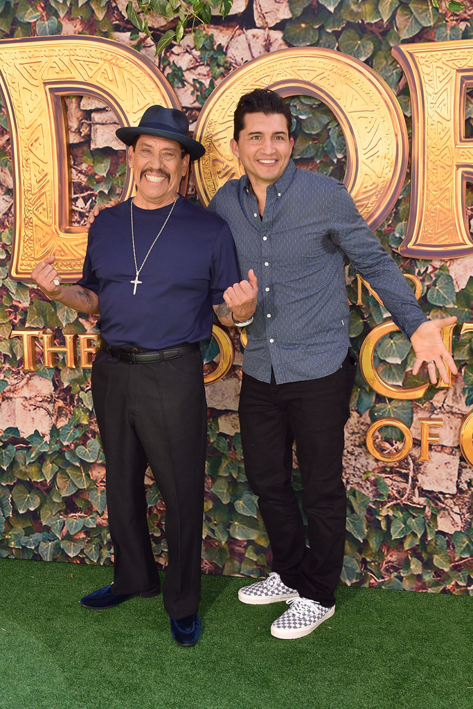 Danny Trejo and Joey Vieira Dora and the Lost City of Gold World Premiere Los Angeles