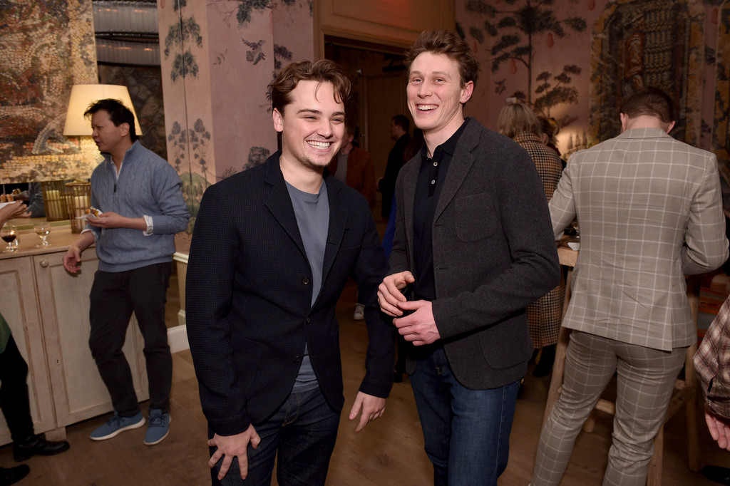 Dean-Charles Chapman 1917 New York City Special Screening Arrivals