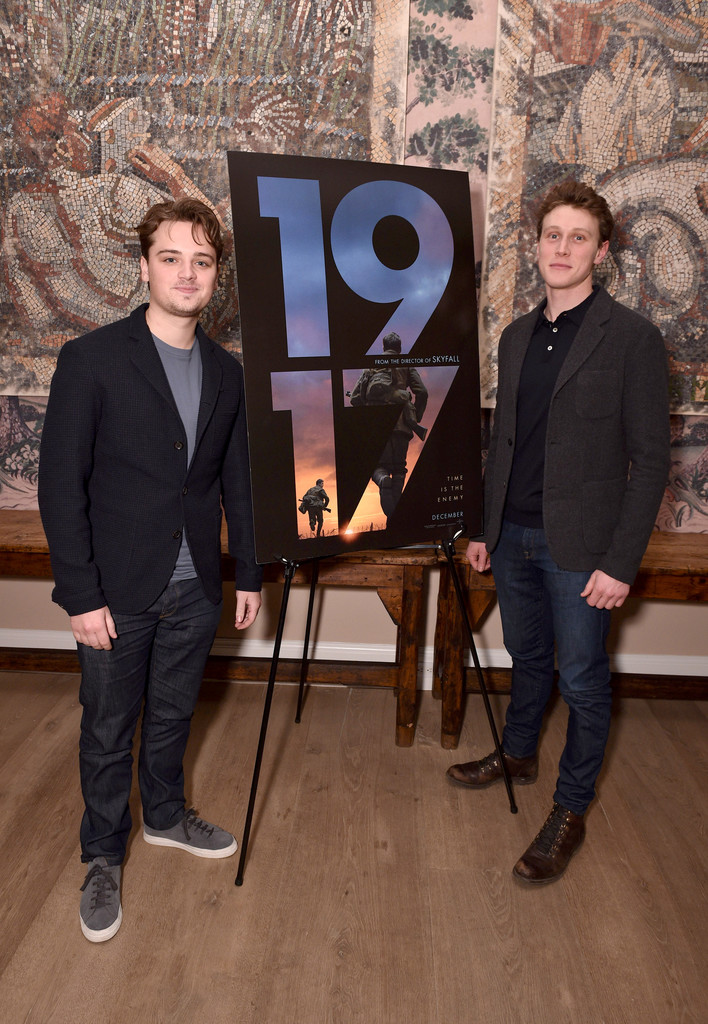 Dean-Charles Chapman and George Mackay 1917 New York City Special Screening