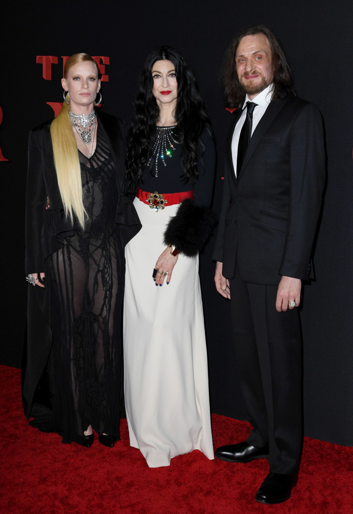 Denna Thomsen, Floria Sigismondi and Nial Greig The Turning Hollywod Premiere Los Angeles Arrivals