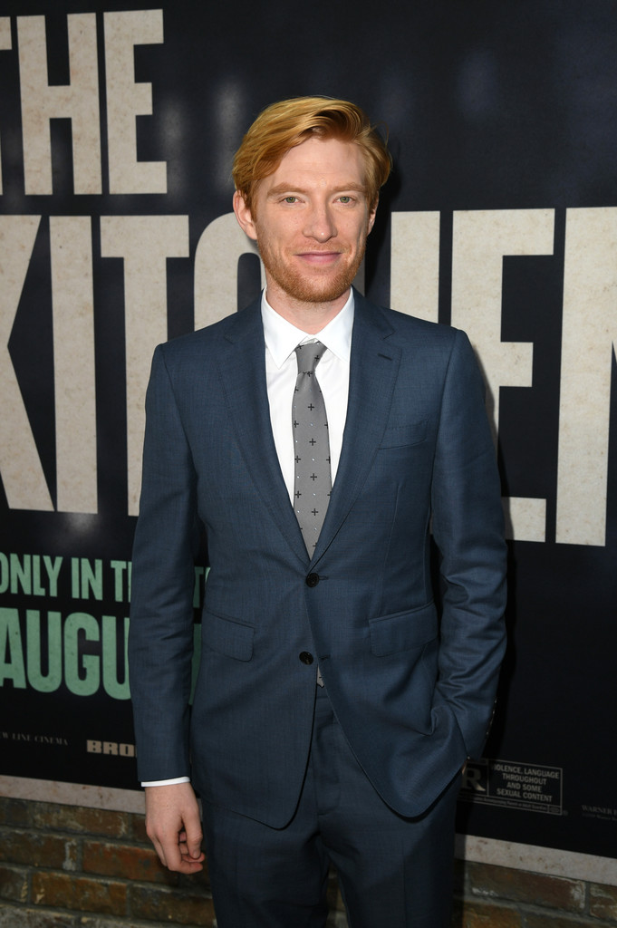 Domhnall Gleeson The Kitchen Los Angeles Premiere