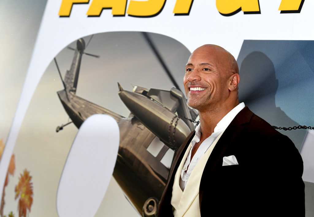 Dwayne Johnson Fast and Furious Presents Hobbs and Shaw World Premiere Hollywood Los Angeles