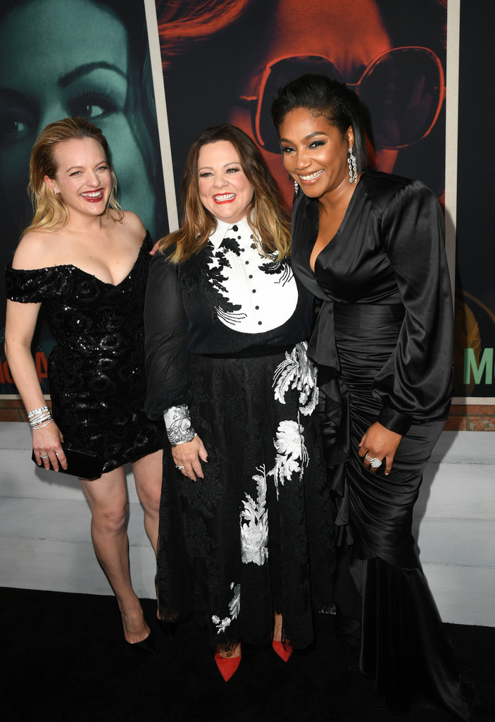 Elisabeth Moss, Melissa McCarthy and Tiffany Haddish The Kitchen Los Angeles Premiere Arrivals