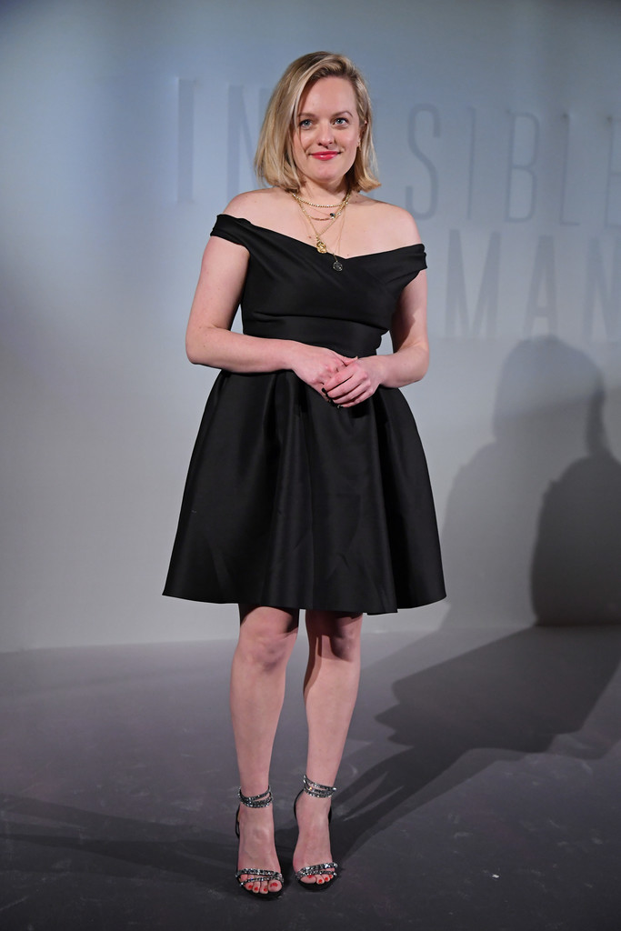 Elisabeth Moss The Invsisible Man Paris Premiere France