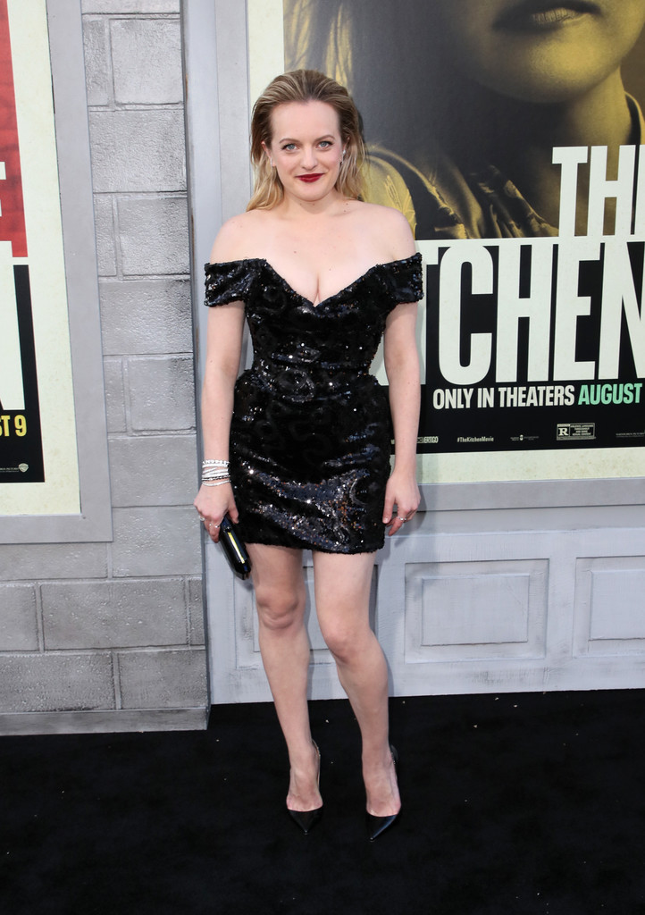 Elisabeth Moss The Kitchen Los Angeles Premiere
