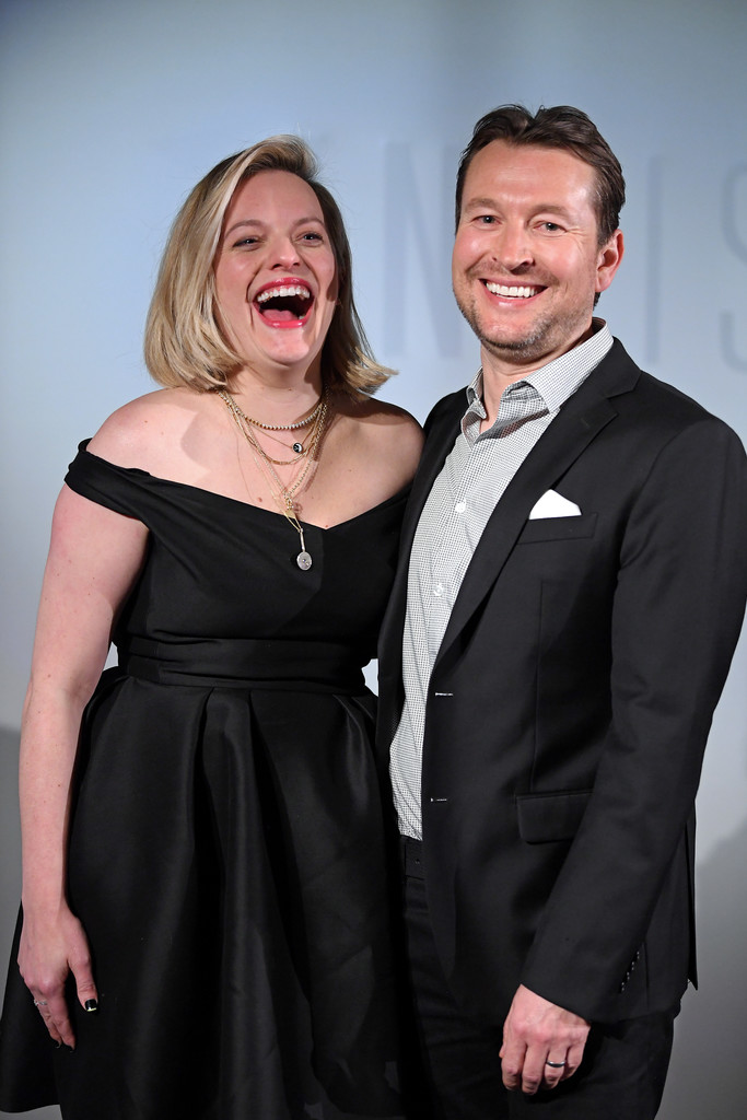 Elisabeth Moss and Leigh Whannell The Invsisible Man Paris Premiere France