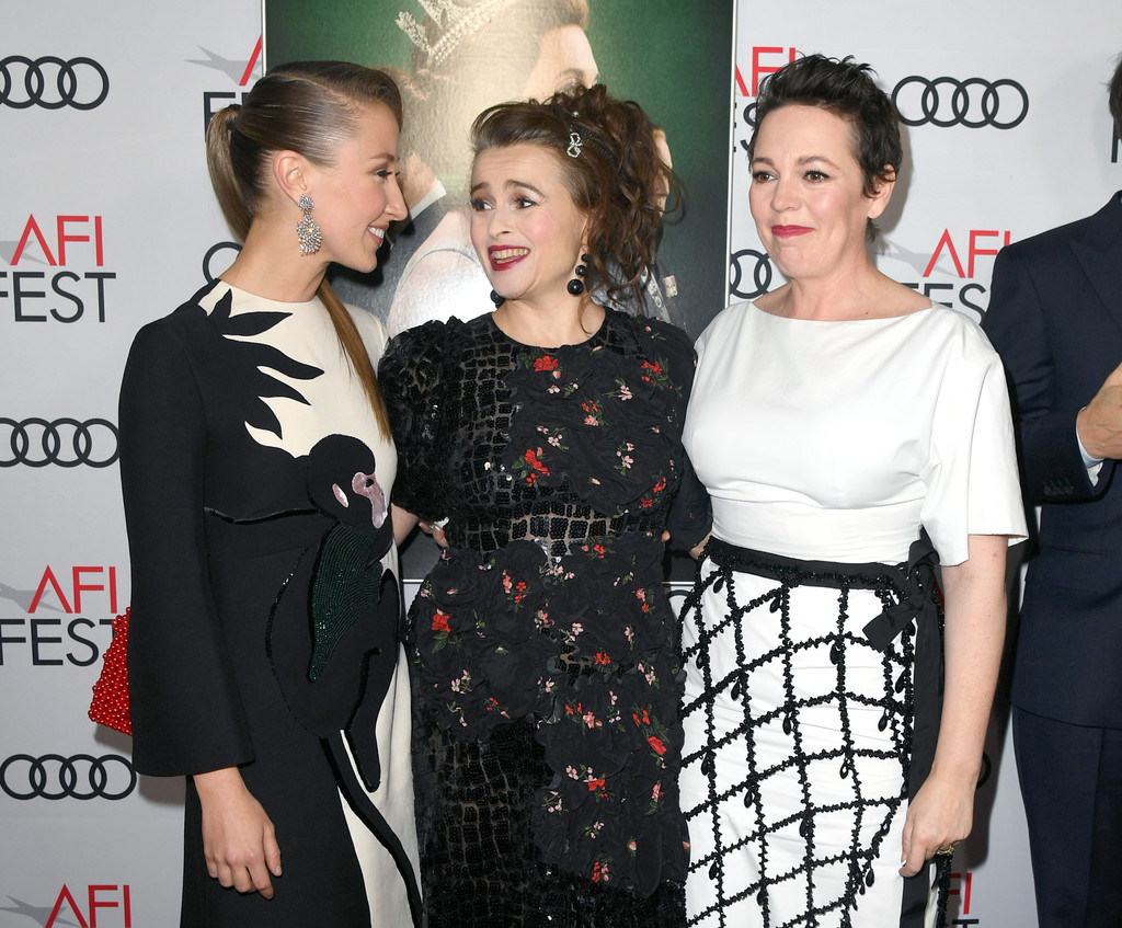 Erin Doherty, Helena Bonham Carter and Olivia Colman The Crown Season 3 Los Angles Premiere AFI Fest 2019 Arrivals