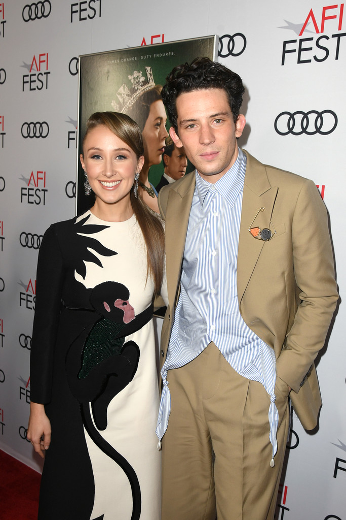 Erin Doherty and Josh O'Connor The Crown Season 3 Los Angles Premiere AFI Fest 2019