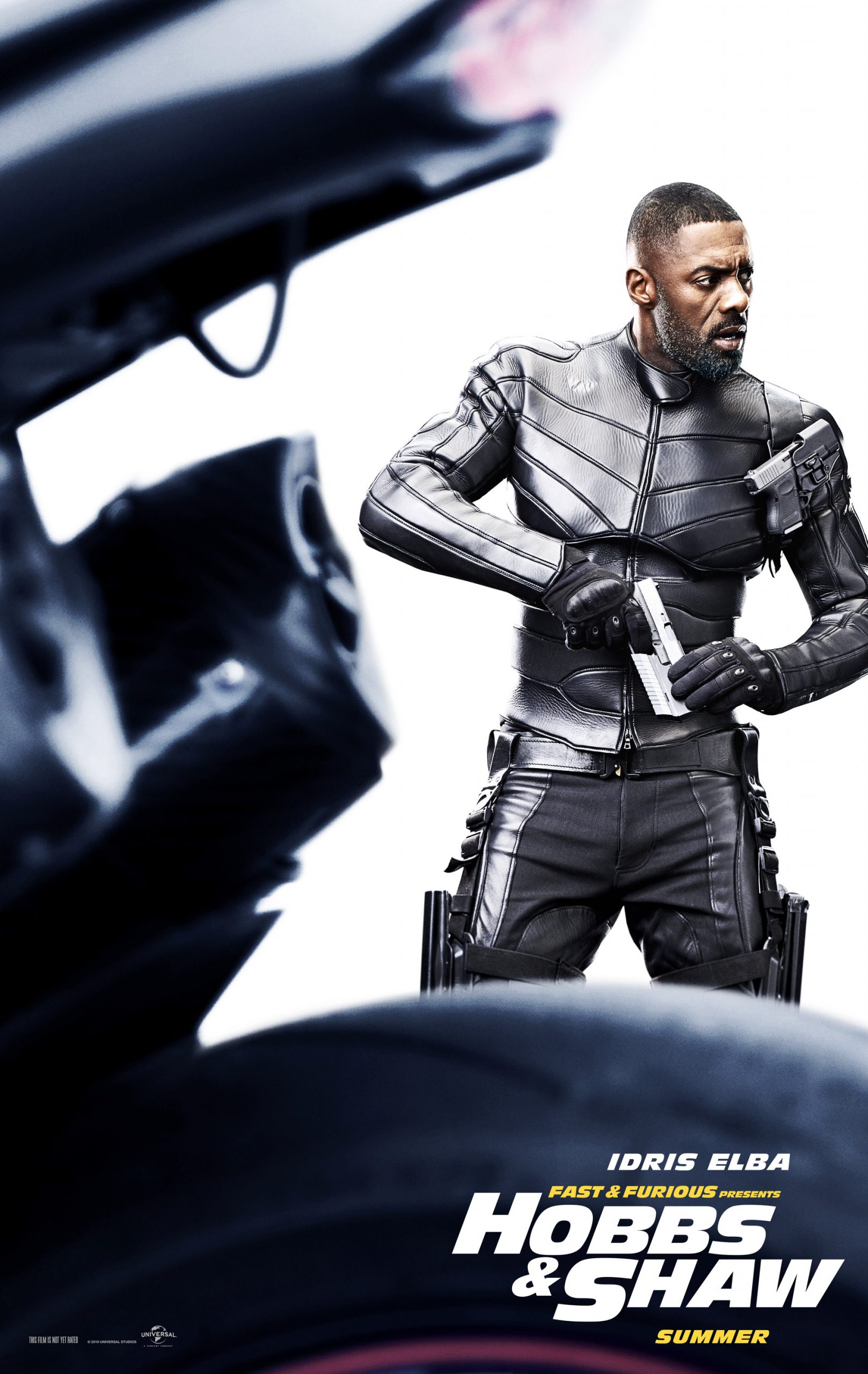 Fast and Furious presents Hobbs and Shaw Character Posters Idris Elba as Brixton Lore
