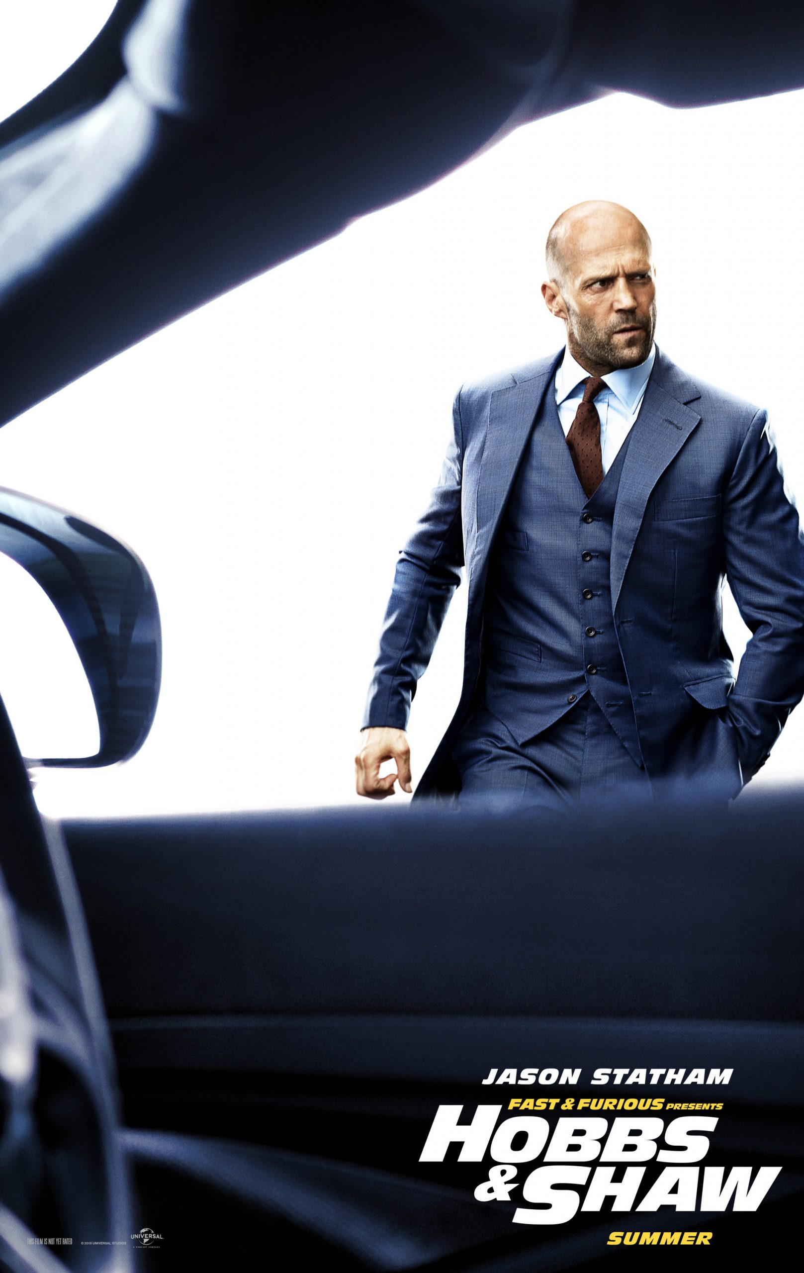 Fast and Furious presents Hobbs and Shaw Character Posters Jason Statham as Deckard Shaw